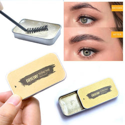 1PC 3D Feathery Brows Setting Gel Waterproof Soap Brow Makeup Kit Lasting Eyebrow Gel