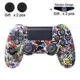 Soft Flexible Silicone Case Protection For Playstation 4 PS4 Pro Slim with LED Light