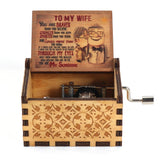 Wooden Hand-cranked Music Box - OZ Discount Store