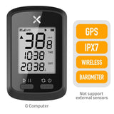 XOSS GPS Bike Computer G+ Wireless Cycling Speedometer Road Bike MTB Waterproof Bluetooth ANT+ Cadence Speed Bicycle Computer