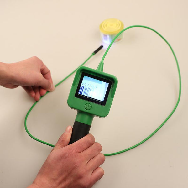 Endoscope Camera LCD Screen Gooseneck Cable Handheld Inspection Borescope