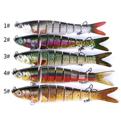 13.7cm 27g 8 Segments Fishing Lures - OZ Discount Store