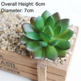 Green Mini Bonsai Artificial Succulents Plants Home Garden Decoration Fake Plants 39 Styles Pick Up DIY plante artificielle