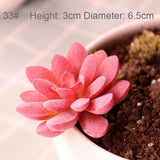 Wedding Home Garden Office Bedroom Living Room Decoration Artificial Plants Mini Succulents Plants 33 Style Pick Up Fake Plants