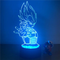 3D LED Night Light Dragon Ball
