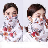 Women Spring Summer Sunscreen Dust-Proof Face Shield