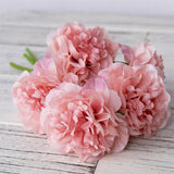 Artificial silk flowers for home decoration wedding bouquet