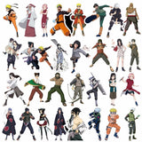 50/100PCS Naruto Sticker For Laptop Car Trunk Skateboard Guitar Fridge Backpack