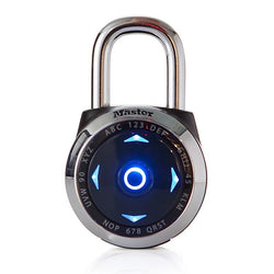 MASTER LOCK US native electronic LED direction password lock gym safe padlock Set Your Own Combination Digital Lock 2Colors