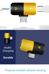 2 In 1 Audio Charger For Samsung