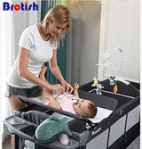 Multi-function portable folding newborn baby bedside bed cradle bed