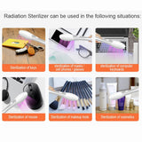 USB Charging Mini Portable UV Sterlization Light Handheld Ultraviolet UV Disinfection Lamp High Quality For Home Office Travel