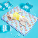 Super Cool Dog Mat Cooling Summer Pet Ice Pad Mats Dogs Cats Sleeping Cool Bed For Small Medium Large Dogs S M L
