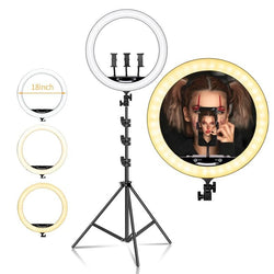 18 Inch Selfie Ring Light with Tripod Stand - OZ Discount Store
