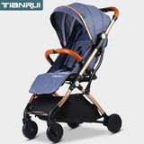 Baby Stroller Trolley Car 2 in 1 Europe Stroller - OZ Discount Store