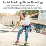 Smart Shooting 360 Rotation Auto Face Tracking Camera Holder