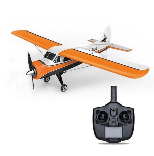 WLtoys XK DHC-2 A600 RC Plane RTF 2.4G Brushless Motor 3D/6G Remote Control Airplane Compatible FUTABA S-FHSS Aircraft RC Glider