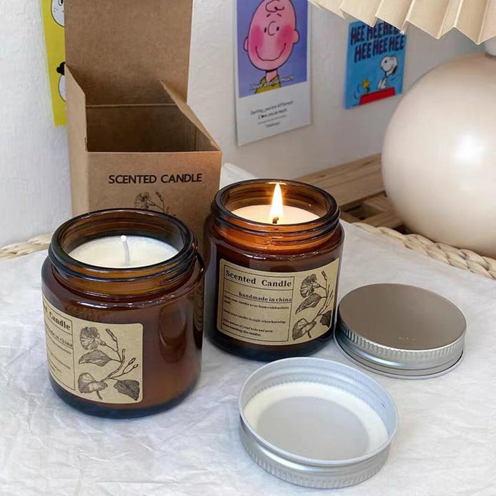 Home Decor Aromatherapy Scented Candles Gift Set Natural Soy Wax