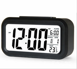 Hot sale LED Digital Alarm Clock Backlight Snooze Mute Calendar Desktop Electronic Bcaklight Table clocks Desktop clock