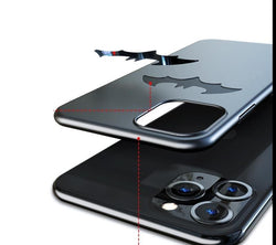 Ultra-thin Metal Batman Matte Phone Case For iPhone 11 Pro