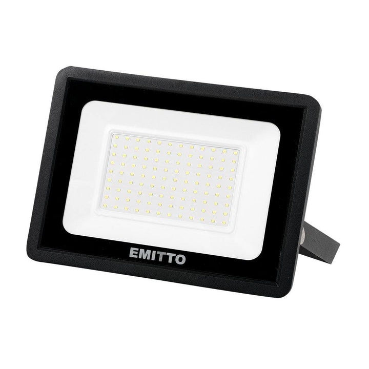 Emitto LED Flood Light 100W Outdoor Floodlights Lamp 220V-240V Cool White