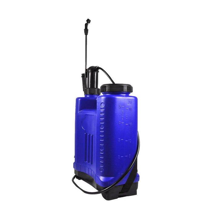 20L Pressure Backpack Water Sprayer Garden Pump Chemical Spray Weeds Killer Blue - OZ Discount Store