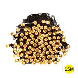 15M 100LED String Solar Powered Fairy Lights Garden Christmas Decor Warm White - OZ Discount Store