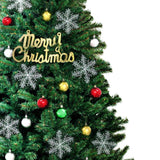 Christmas Tree Kit Xmas Decorations Colorful Plastic Ball Baubles with LED Light 2.1M Type2 - OZ Discount Store