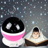 LED Night Star Sky Projector Light Lamp Rotating Starry Baby Room Kids Gift - OZ Discount Store
