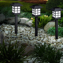 12x LED Solar Power Garden Landscape Path Lawn Lights Yard Lamp Outdoor Lighting - OZ Discount Store