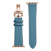 Load image into Gallery viewer, Shiloh Genuine Leather Watch Band for Apple iWatch