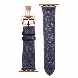 Shiloh Genuine Leather Watch Band for Apple iWatch