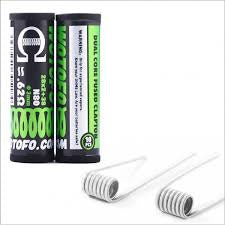 Wotofo Dual Core  Fused Clapton Wire 0.62ohm (28*2+38G)20