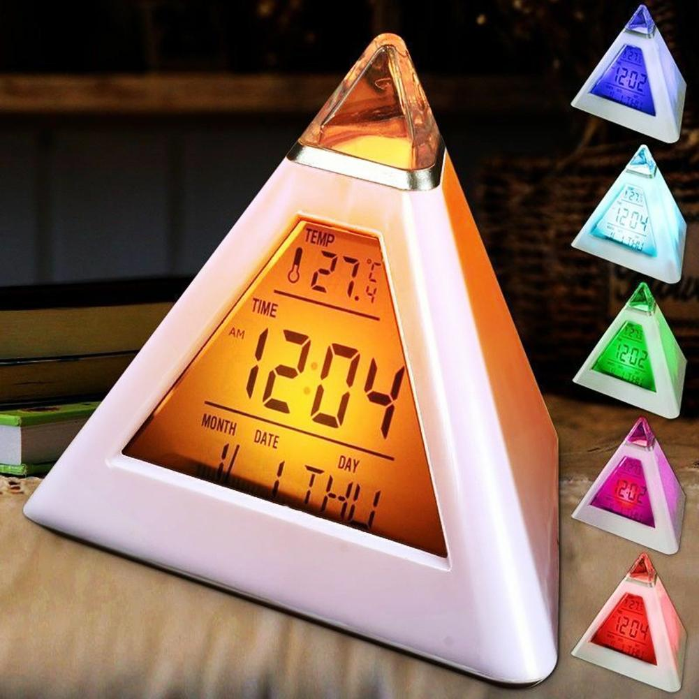 Seven Colors Table Clocks