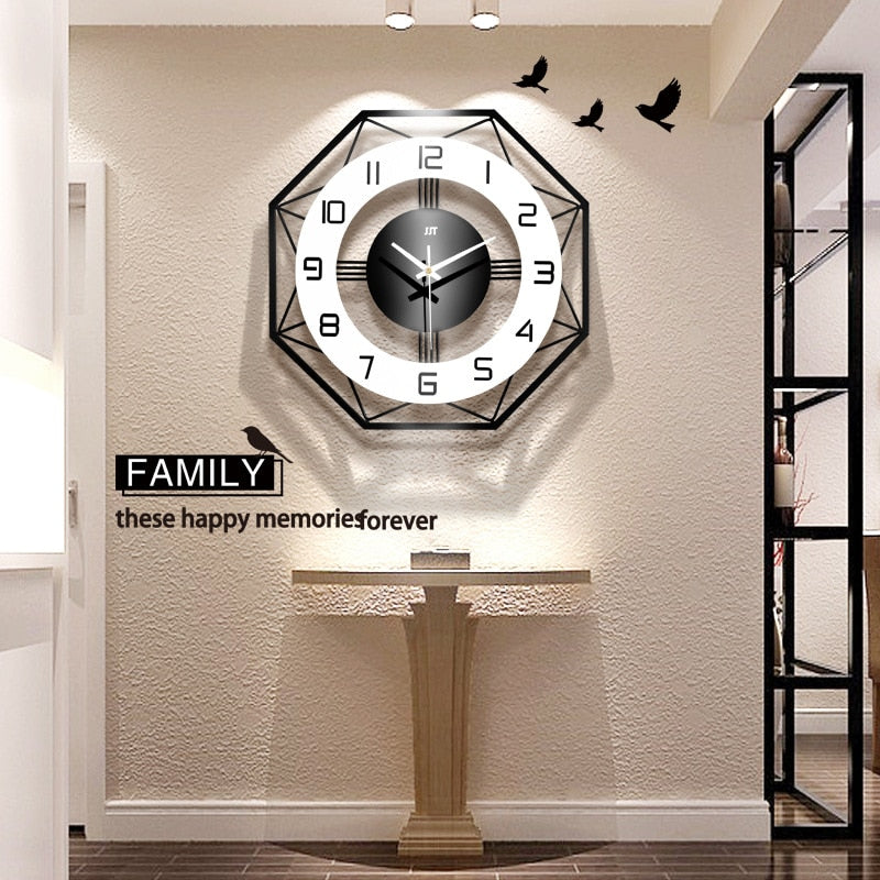 Nordic Simple Wall Clock
