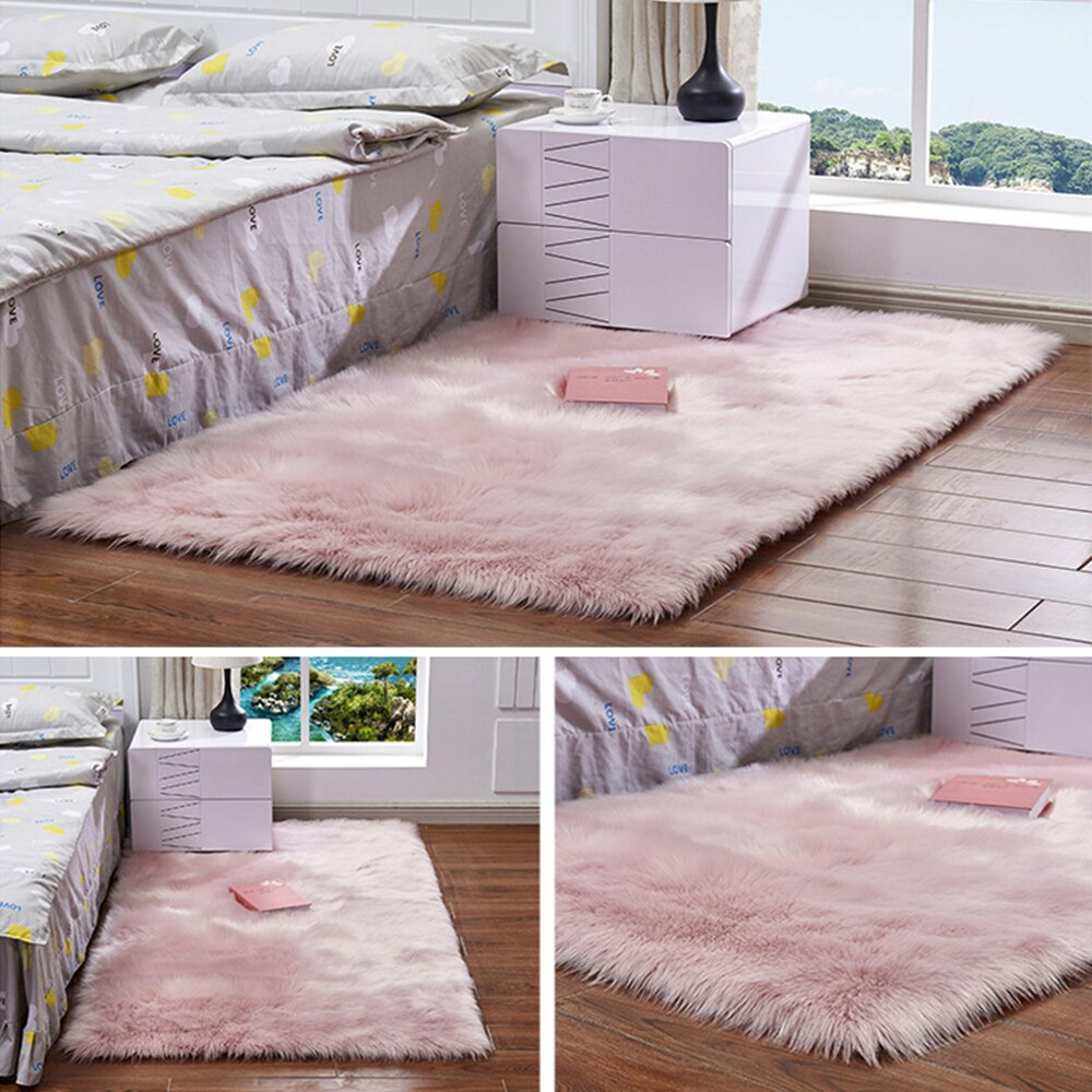 Pink Wool Carpet