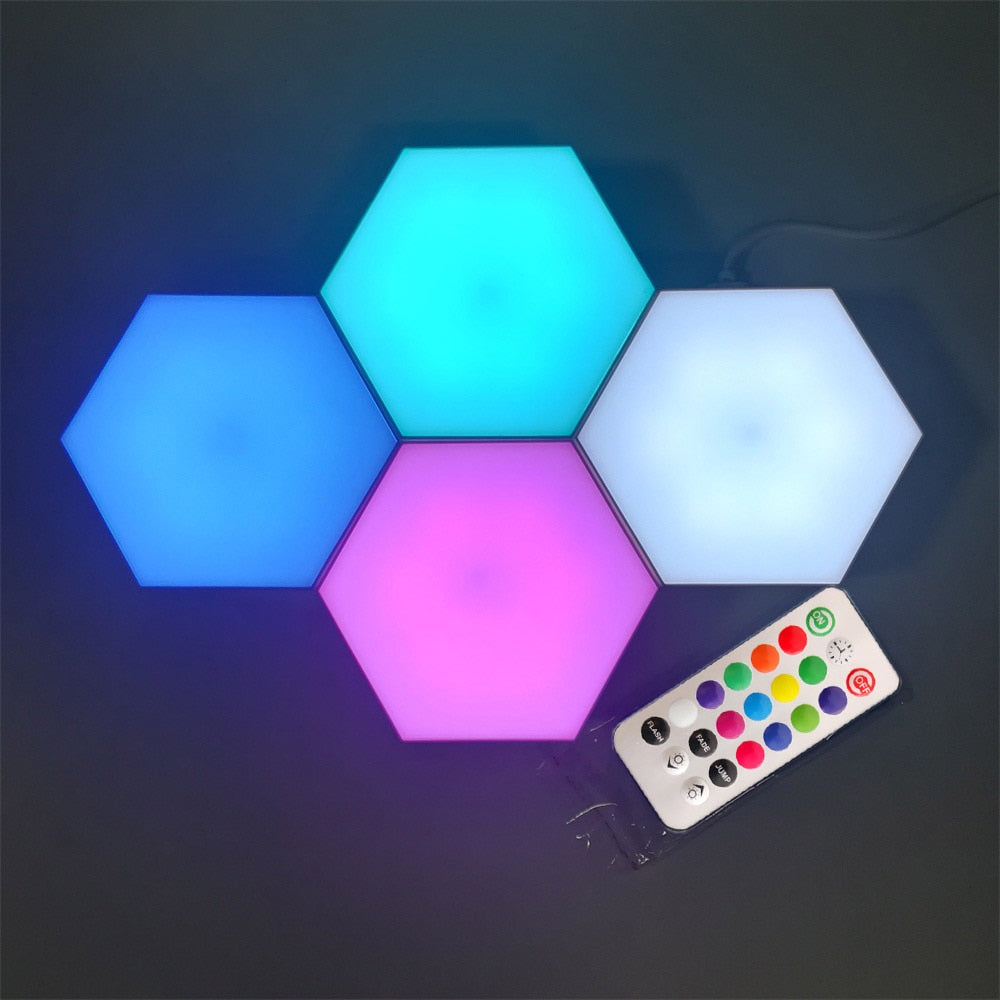 USB Touch Remote Control Colorful WALL LED