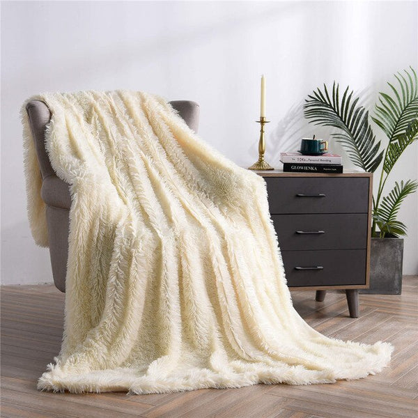 Shaggy Throw Blanket