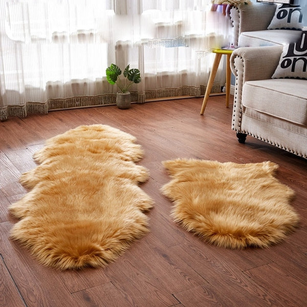 Sholisa fluffy Fur Rug Carpet rug