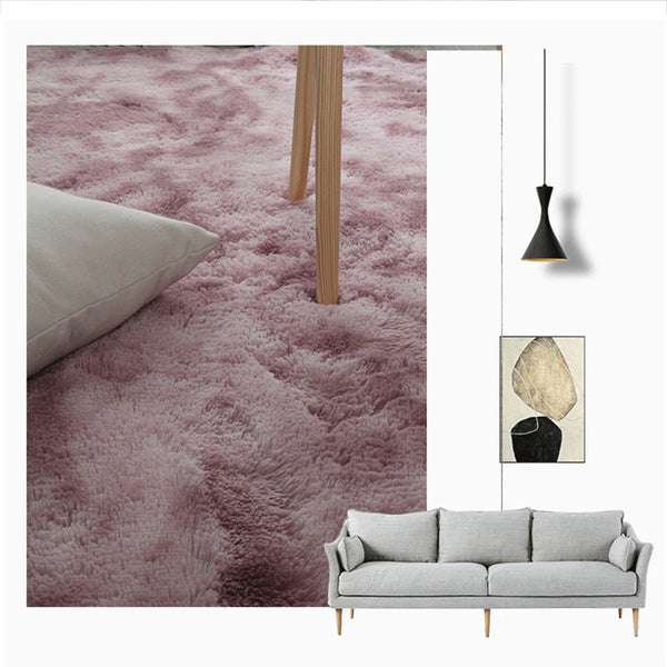 Nordic Plush Carpets Living Room Soft Fluffy Rug