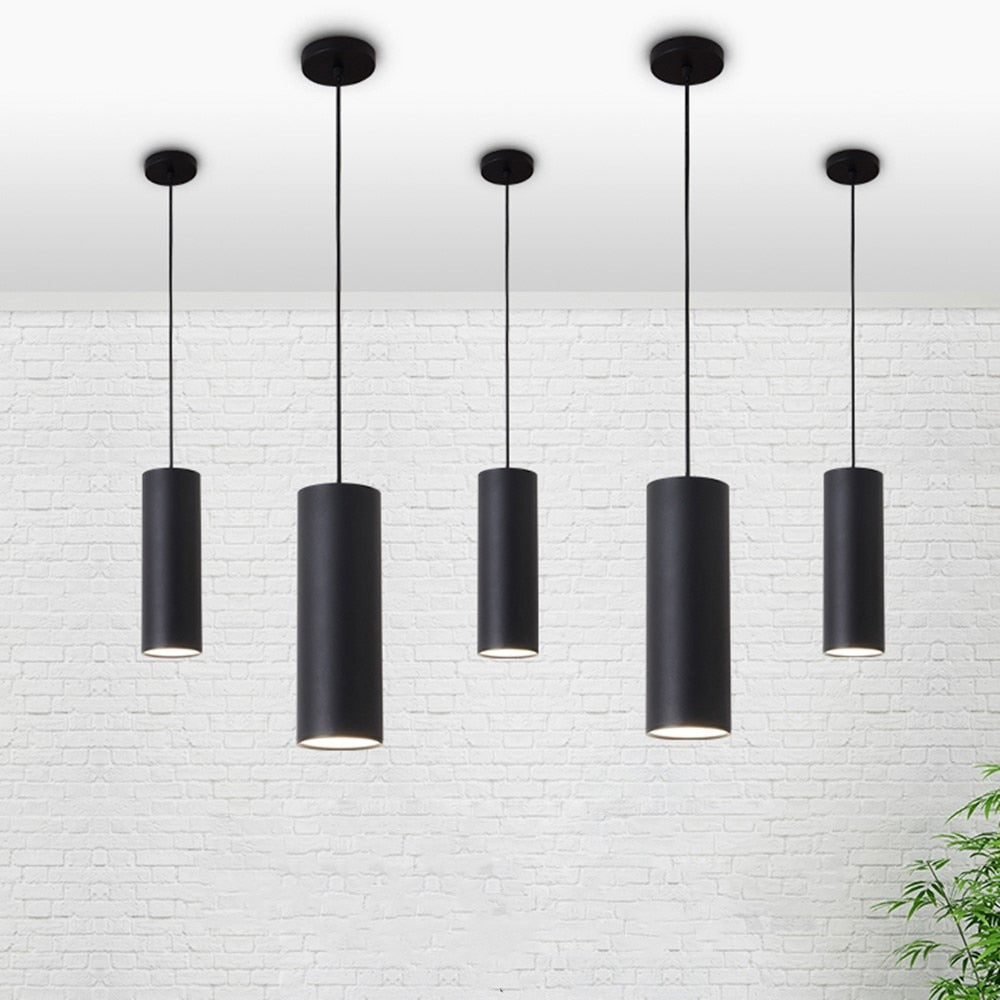 Pendant Cylindrical Light