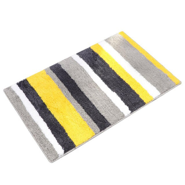 Striped Bathroom Mat Collection