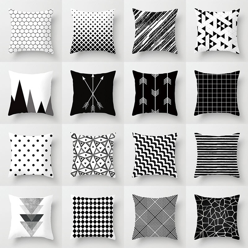 Geometric Cushion Set