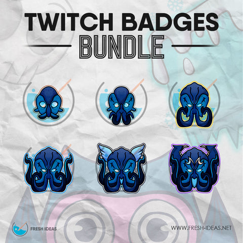 Kraken - Twitch Badges Bundle