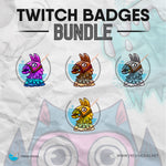 Fortnite llama - Twitch Badges Bundle