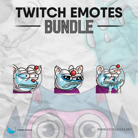Kupo Monkas - Twitch Emotes Bundle