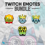 Skull King - Twitch Emotes Bundle