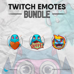 Squirtle - Twitch Emotes Bundle