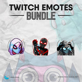Spiderman - Twitch Emotes Bundle