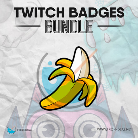 Banana - Twitch Badge